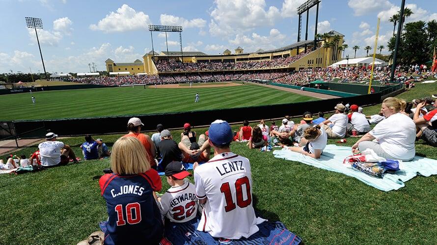Atlanta Braves Spring Training em Orlando