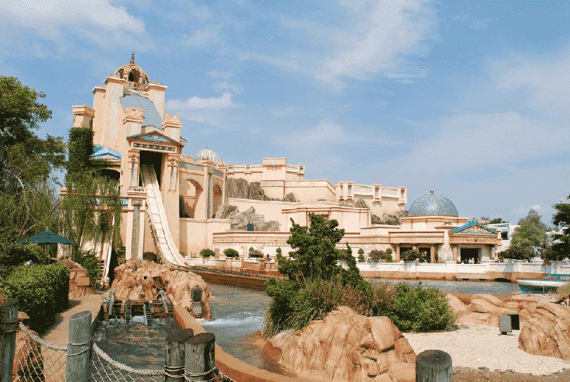 Journey to Atlantis no Sea World em Orlando