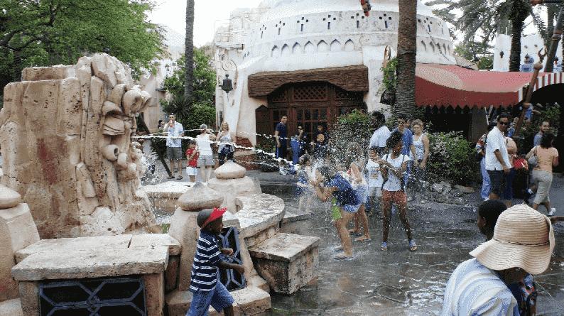 The Mystic Fountain no Islands of Adventure em Orlando