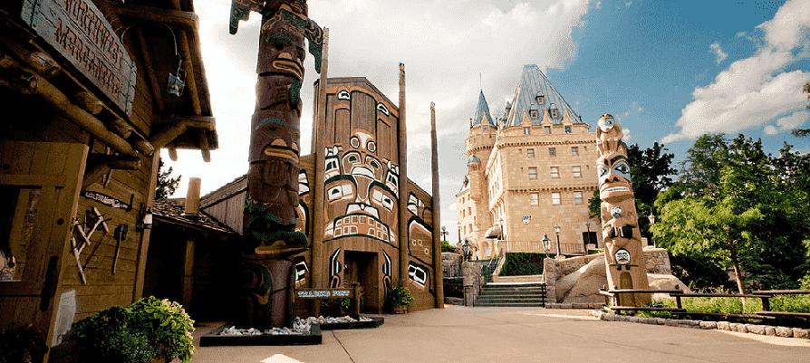 Pavilhão do Canadá no Epcot em Orlando