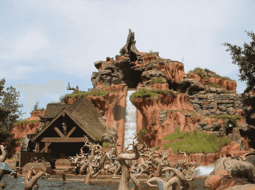 Splash Mountain no Magic Kingdom em Orlando
