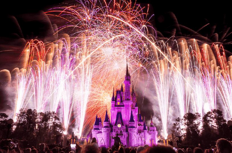 Show de fogos Happily Ever After no Magic Kingdom em Orlando