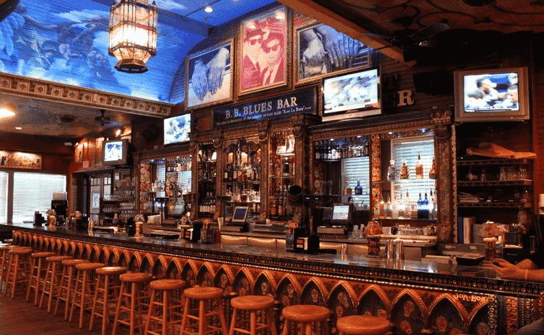 Blues Bar na House of Blues em Orlando