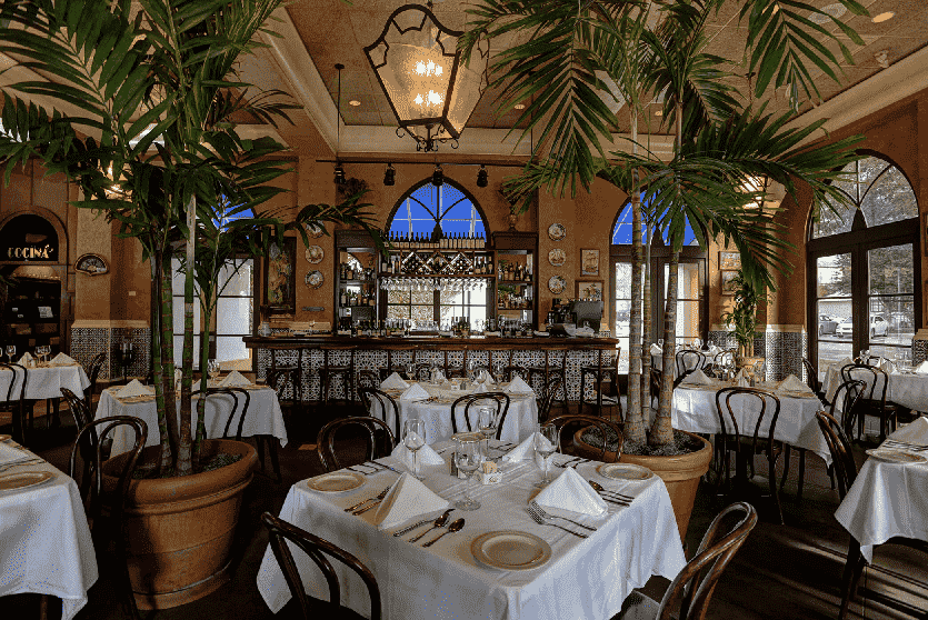 Restaurante Columbia Celebration na Disney em Orlando