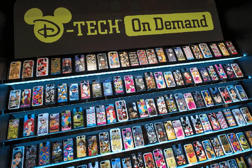 Loja D-Tech on Demand no Disney Springs em Orlando