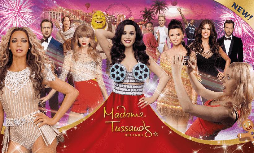 Museu de cera Madame Tussauds na International Drive em Orlando