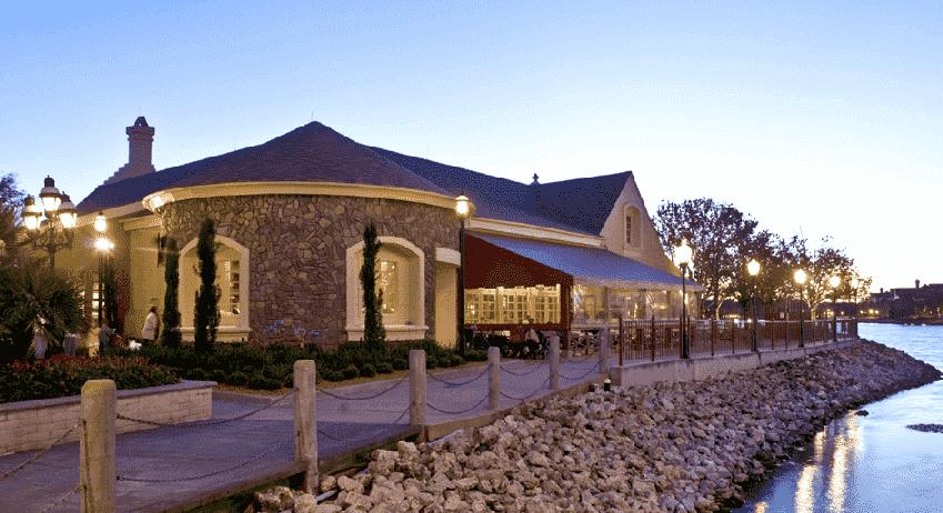 Restaurante Portobello Yacht Club na Disney em Orlando