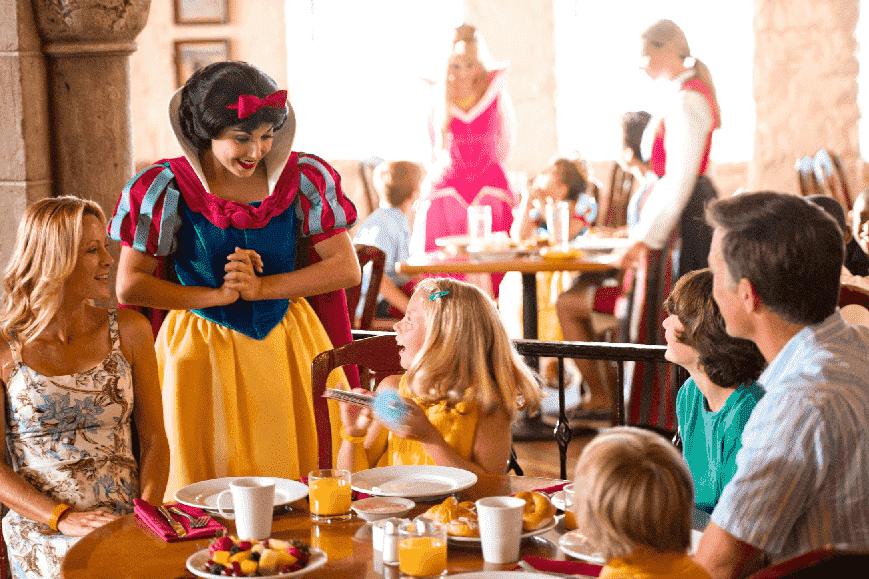 Restaurantes na Disney em Orlando