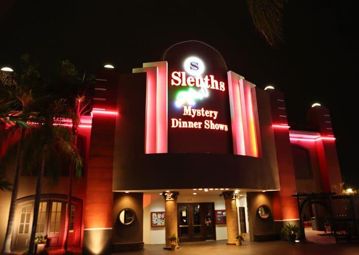 Jantar com show Sleuth's Mystery Dinner Theatre na International Drive em Orlando