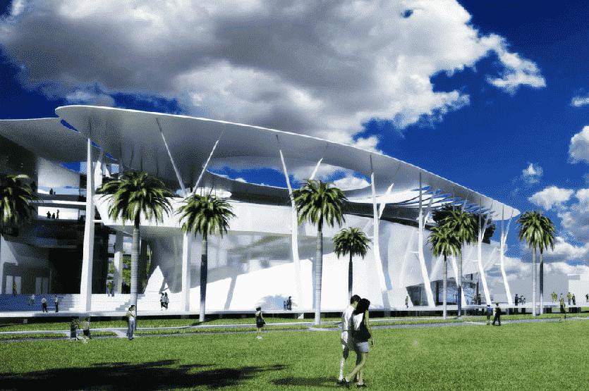 Museu em Miami