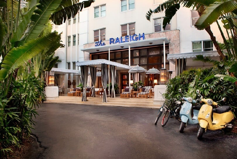 Hotel Raleigh em Miami - Deco District