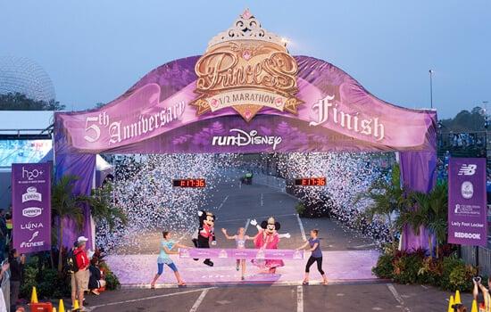 Calendário de corridas da Disney em Orlando em 2016