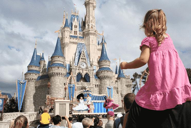 Crianças perdidas nos parques em Orlando
