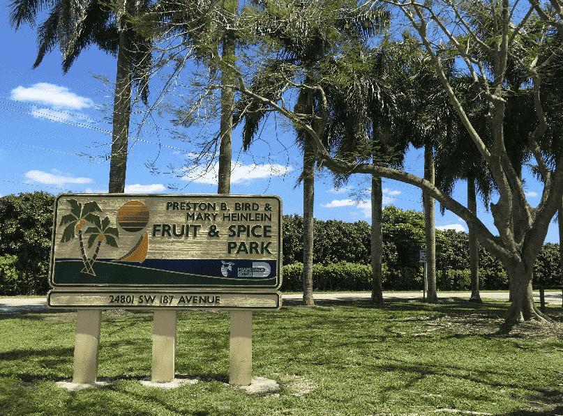 Fruit & Spice Park em Miami