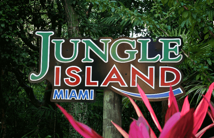 Jungle Island em Key Biscayne
