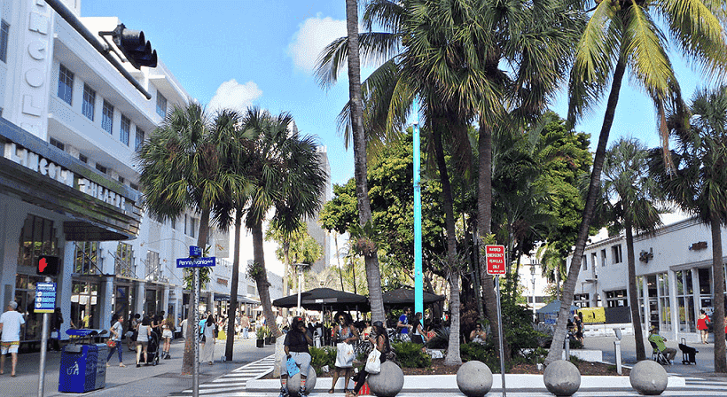 Lincoln Road em South Beach Miami
