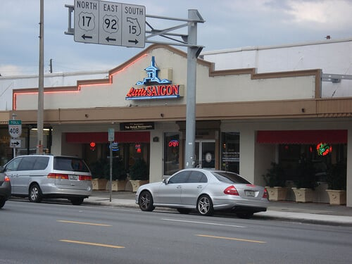 Restaurante Little Saigon em Downtown Orlando