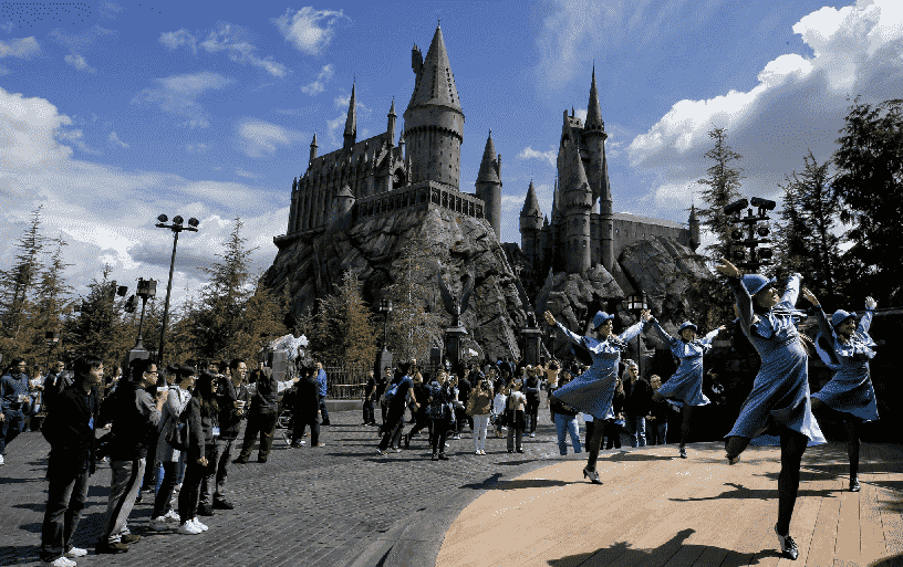 Parque do Harry Potter na Universal