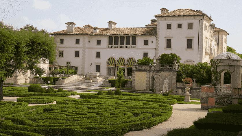Museu Villa Vizcaya e Jardins em Miami