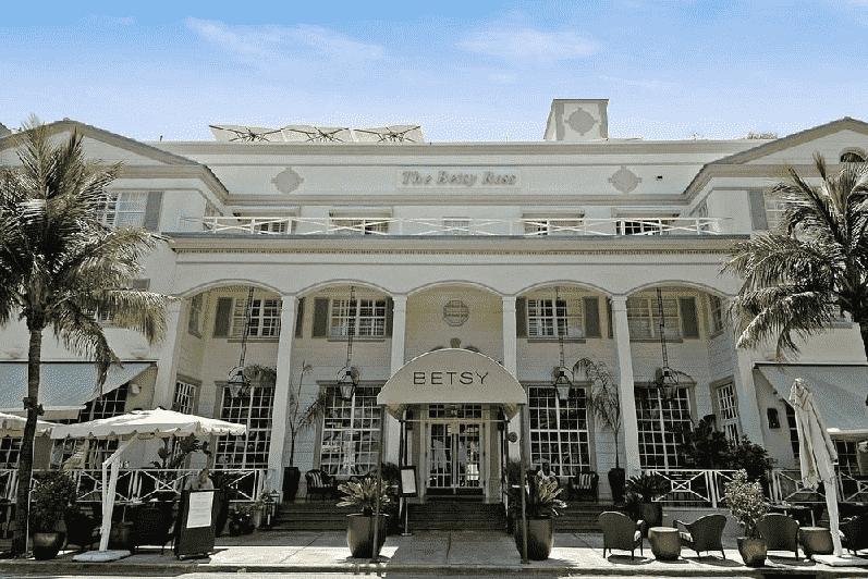 Betsy Ross Hotel em South Beach em Miami