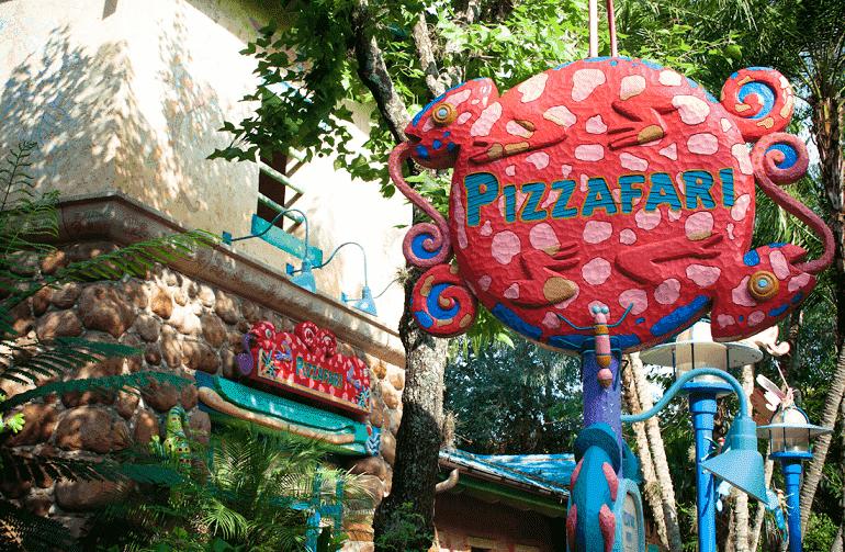 Pizzafari no Animal Kingdom em Orlando: entrada