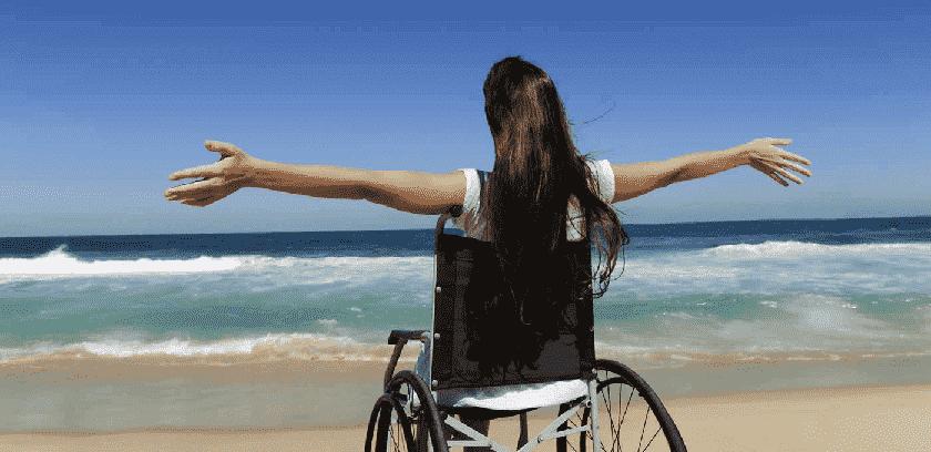 Portadores de deficiência em Miami