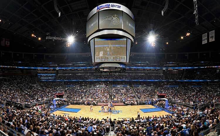 Arena de jogos do Orlando Magic e NBA