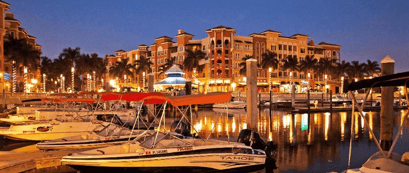 Passeios em Naples na Flórida: mar e barcos no porto