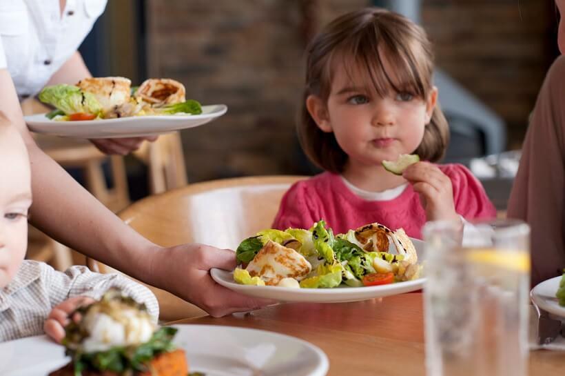 Restaurantes com crianças em Orlando