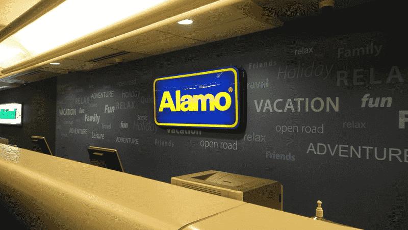 Aluguel de carro no aeroporto em Orlando
