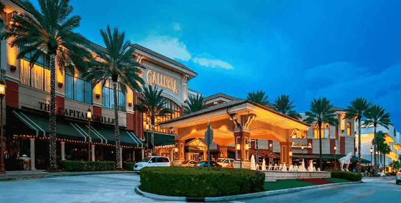 The Galleria em Fort Lauderdale