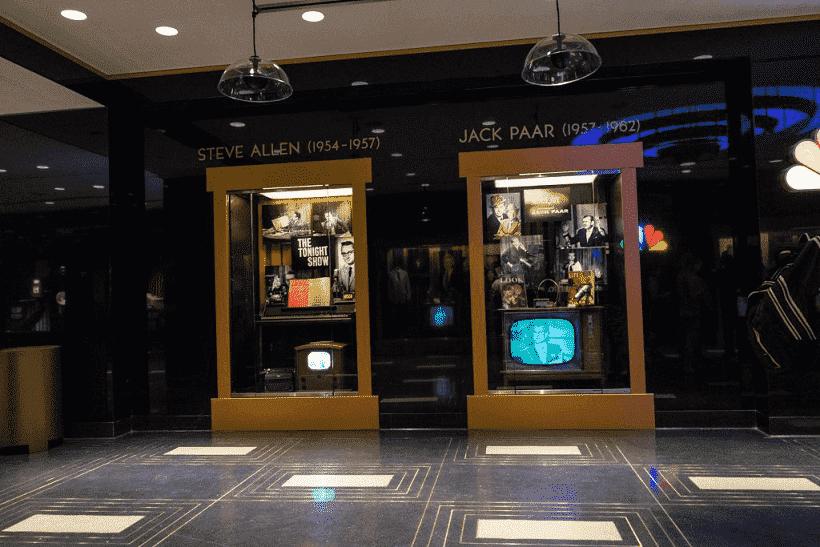 Sistema de filas da atração do Jimmy Fallon em Orlando