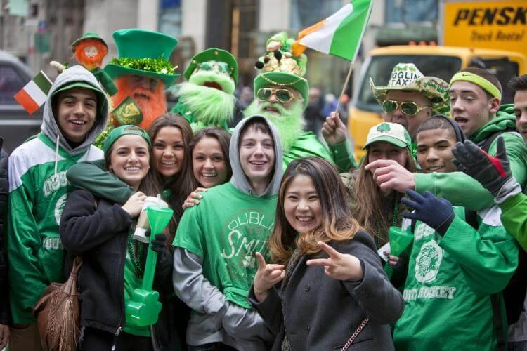 Feriados em Março de 2018: Dia de São Patrício, St. Patrick's Day.