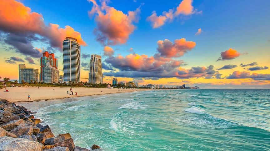 Feriados em Miami em 2018