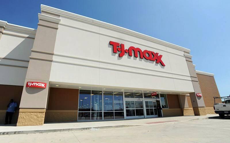 Loja T.J.Maxx em Miami e Orlando