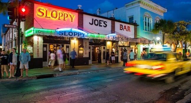 O que fazer a noite em Key West?