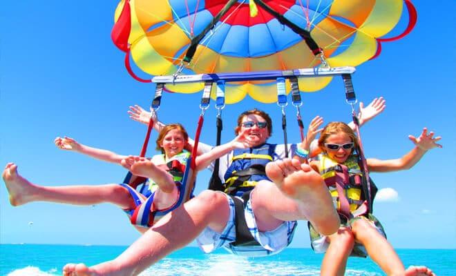 Praias de Key West com crianças