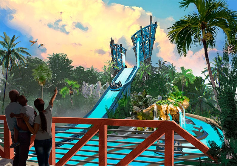 Nova área Infinity Falls no Seaworld Orlando