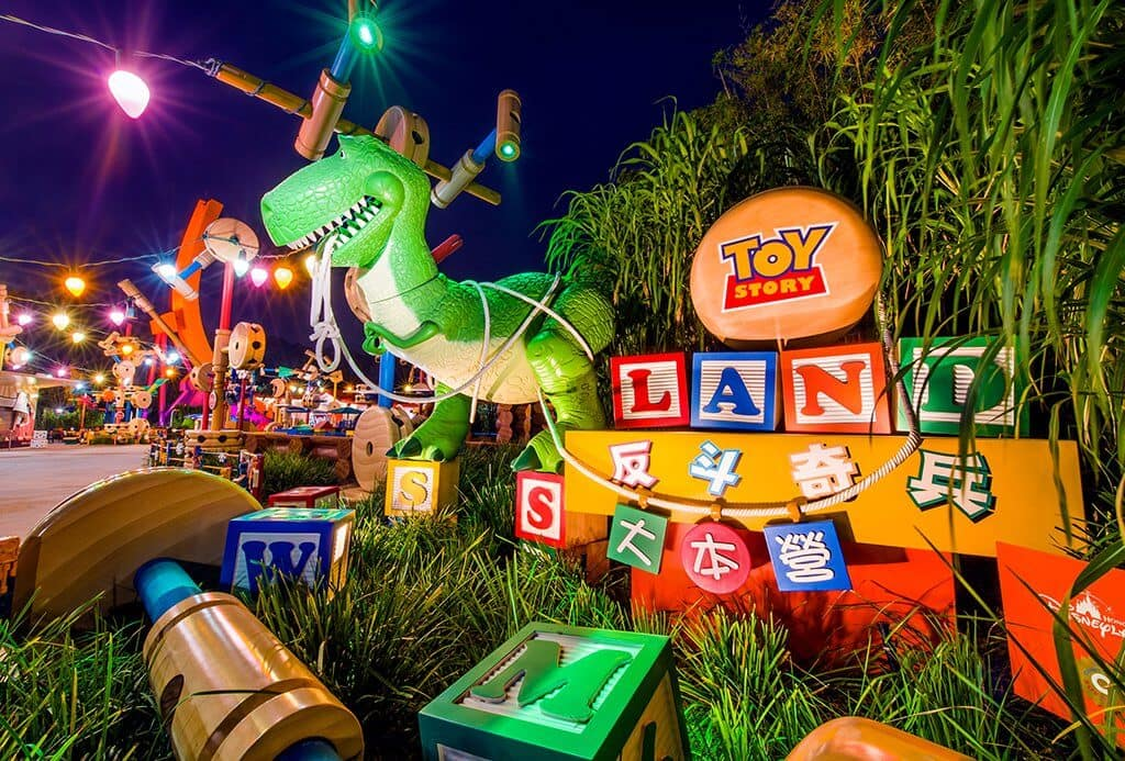 área Toy Story Land Disney