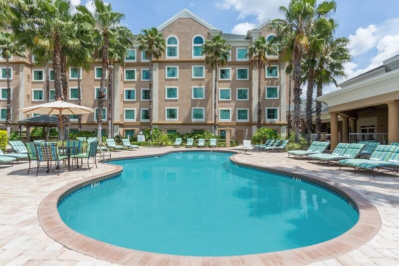 Piscina do Hawthorn Suites by Wyndham Orlando Lake Buena Vista