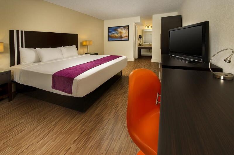 Quarto do Avanti International Resort em Orlando