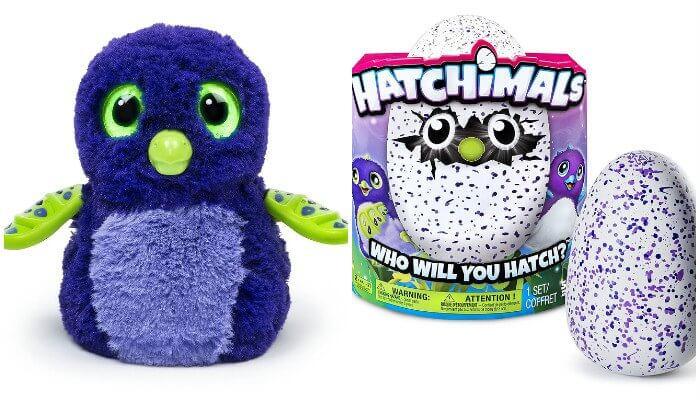 Embalagem Hatchimals