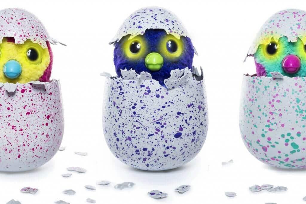 Ovos dos Hatchimals