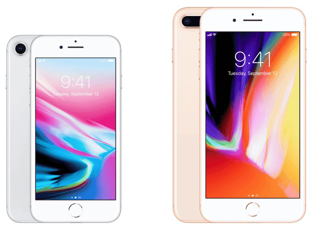 Diferenças entre o iPhone 8 e 8 Plus