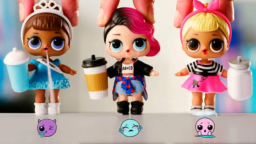 Modelos de bonecas LOL Surprise
