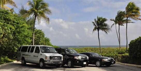 Como ir do aeroporto de Fort Lauderdale até o centro turístico de transfer