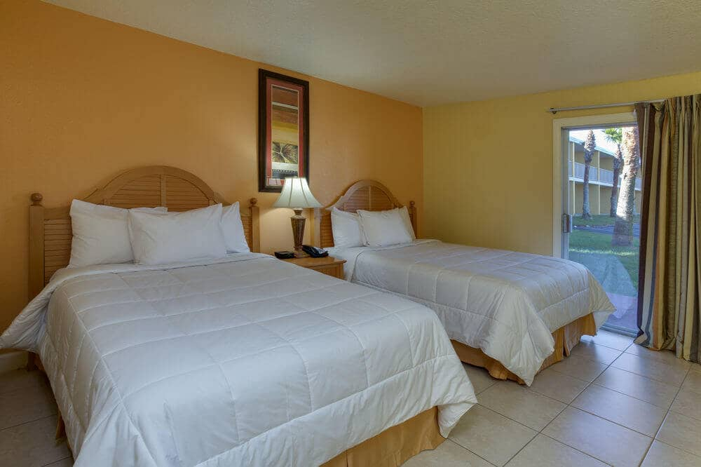 Quartos do Hotel Celebration Suites de Orlando