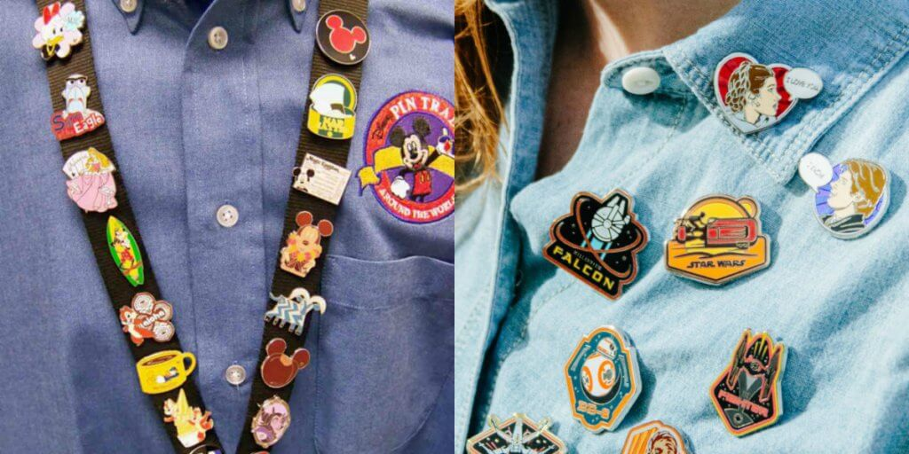 Coleções de Pins da Disney