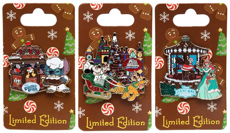 Edições Limitadas de Pins da Disney
