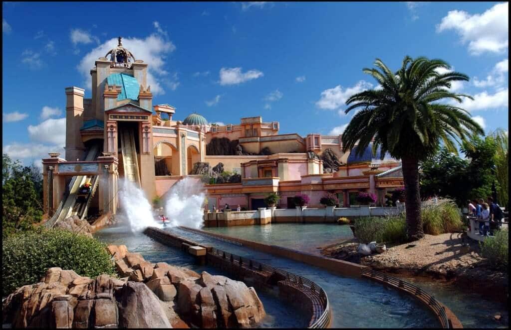 Atracción Journey To Atlantis